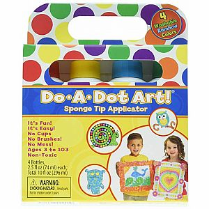 Do-a-Dot Art Markers 4-Pk Rainbow