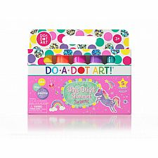 Do A Dot Art! Ultra Bright Shimmer Markers, 5-Pack