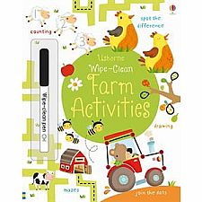 Farm Activities Wipe-Clean
