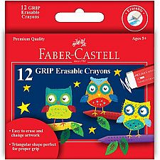 12 ct Erasable Crayons