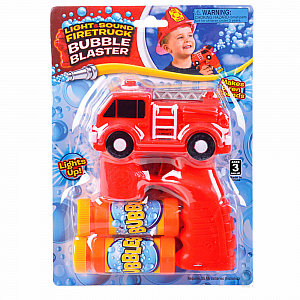 Fire Truck Bubble Blaster