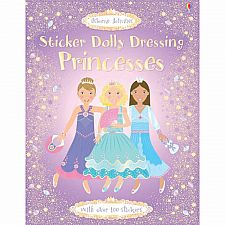 Sticker Dolly Dressing: Princesses (Revised)