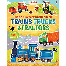 Build Picture Trains, Trucks & Tractors