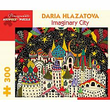 Daria Hlazatova: Imaginary City 300 pc Puzzle