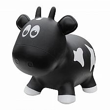 Farm Hopper Jumping Animal-Black Cow