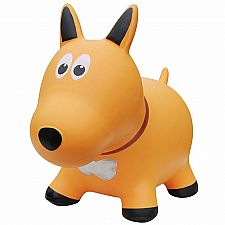 Farm Hopper Jumping Animal-Yellow Dog
